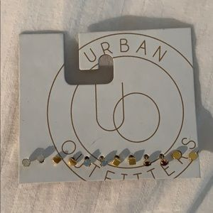 NWT urban outfitters stud earrings collection